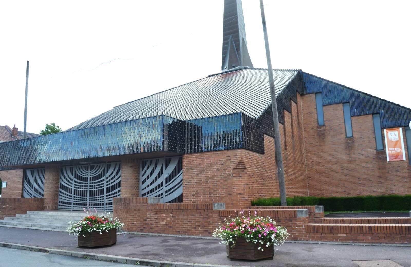 MARCQ-EN-BAROEUL, église Sacré-Coeur